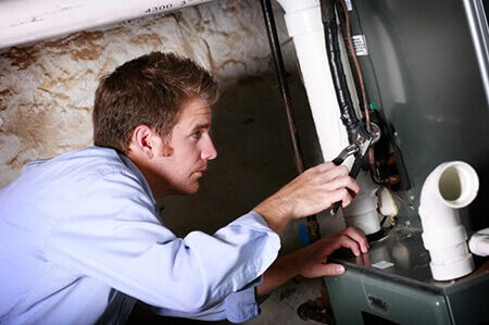 Emergency Heating Service Company In New Boston MI | Air Temperature Control - furnace_repair-smaller