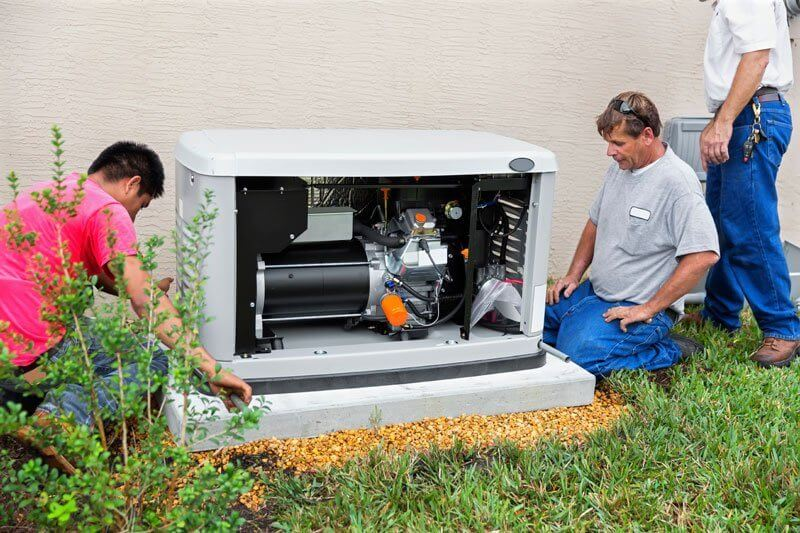 Generator Repair & Installation Belleville MI | Air Temperature Control - generator_1